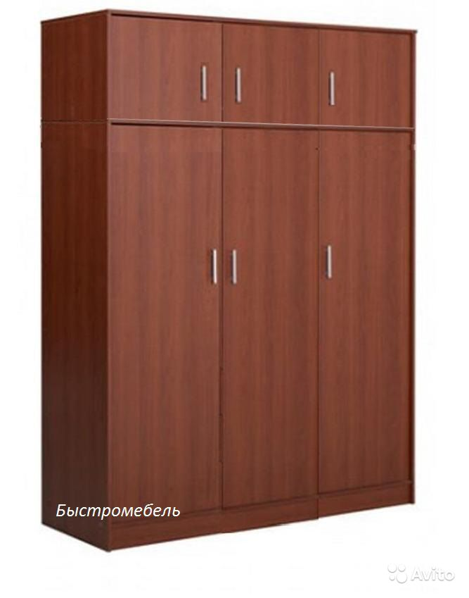 Шкаф распашной с антресолью клио 3а (арт.5074) - мебель и пр.