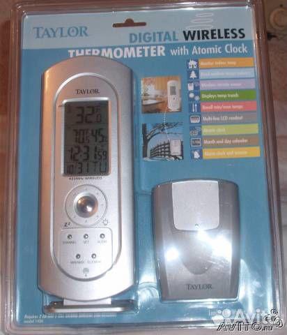 В продаже Часы электронные с дистанционным термометром и пр по доступной цене c фотографиями и описанием...