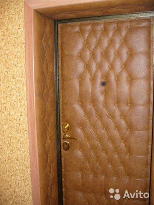 отделка внутри металлической двери