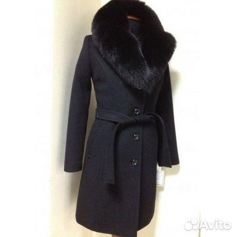 Черное Зимнее Пальто
