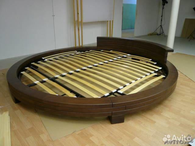 Как сделать круглую кровать самому