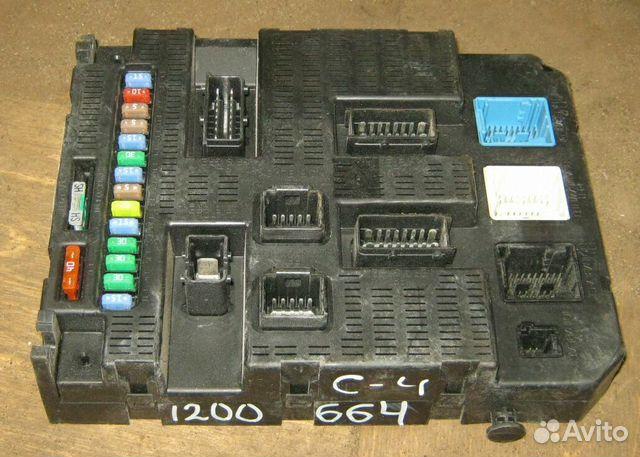 Блок предохранителей Citroen