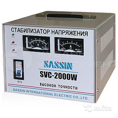 Стабилизатор Sassin SVC 2000W