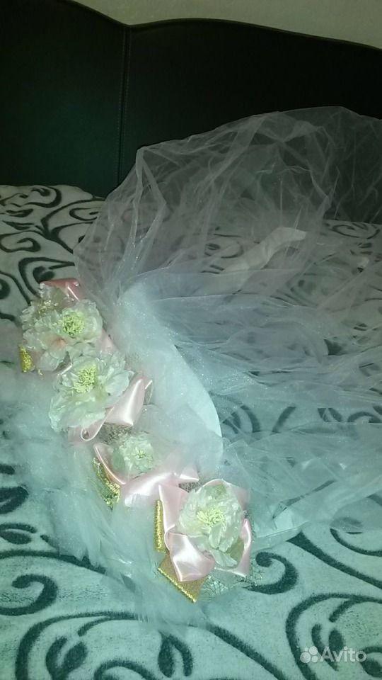 Свадебное украшение. Фата на машину невесты купить в Самарской ...