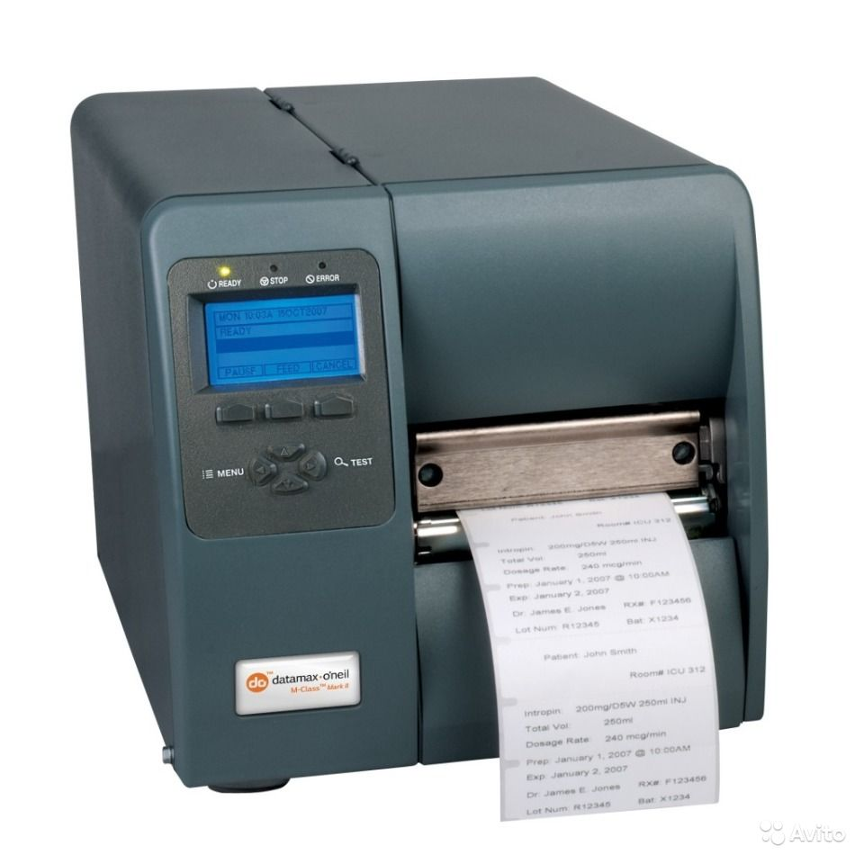 Datamax-O/'Neil E-4204B DT//TT Thermal Barcode Printer EB2-00-0J005B00 ✅NEW w// WTY
