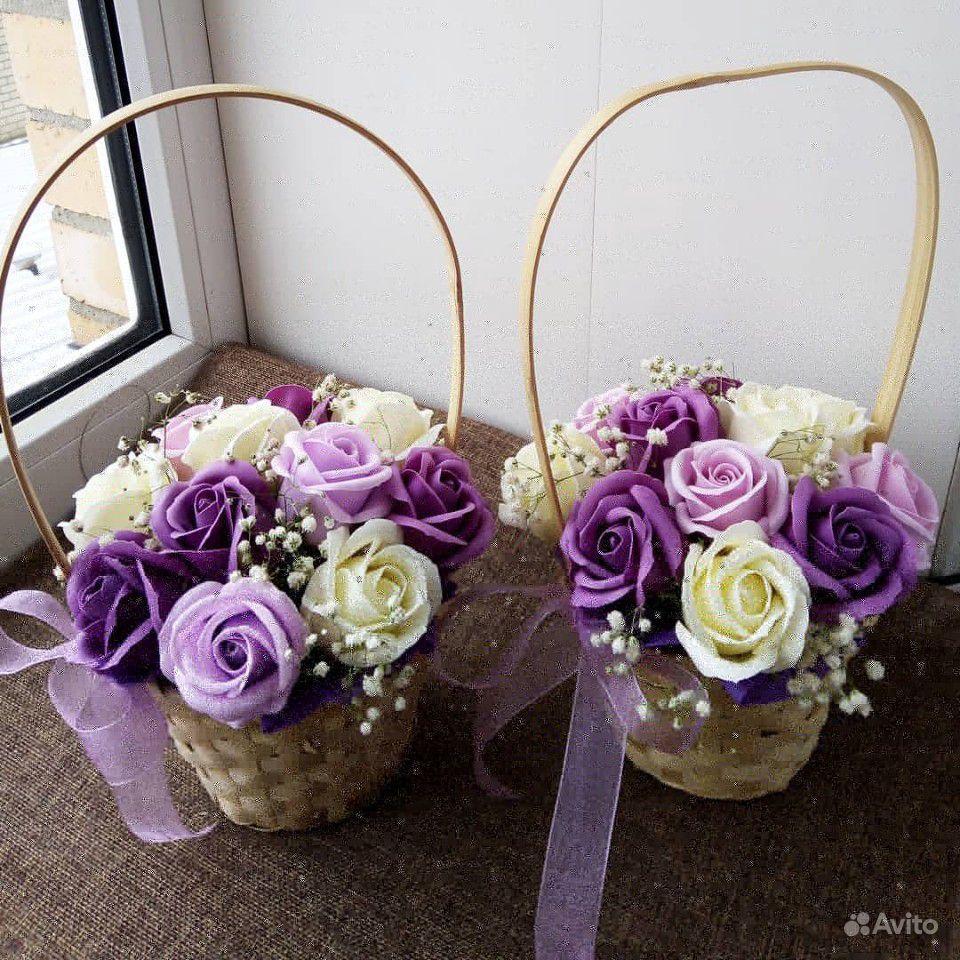 Цветы из мыла купить на Зозу.ру - фотография № 10
