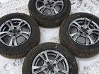 Колеса r14/4x100,Dunlop/hankook