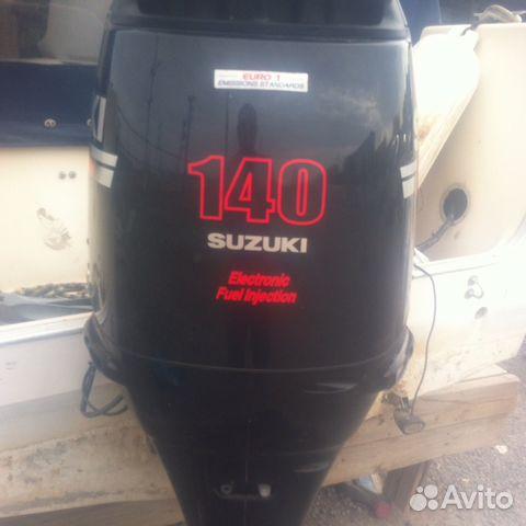 купить бу лодочный мотор сузуки 140