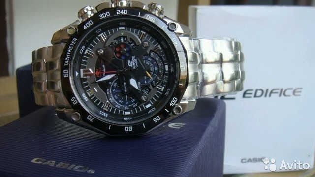 Продам часы casio edifice EF-550rbsp-1AV— фотография №1