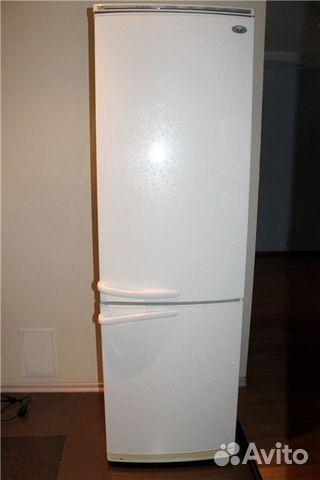 2 х камерный холодильник: