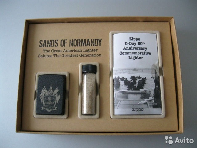 Zippo Sands of Normandy, Limited Edition, new— фотография №1