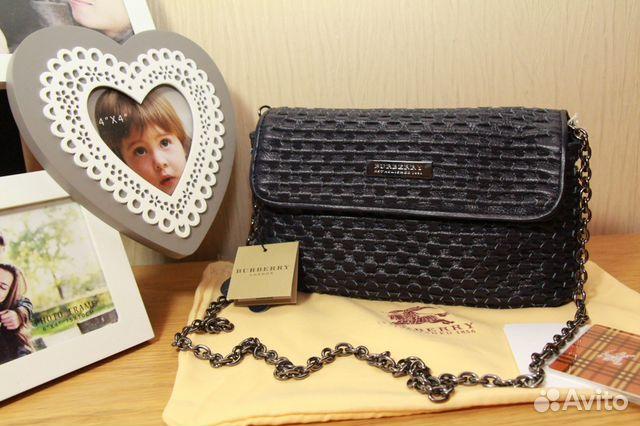 Кожаные сумки для женщин Burberry