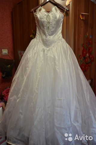 Объявления свадебные платья бу