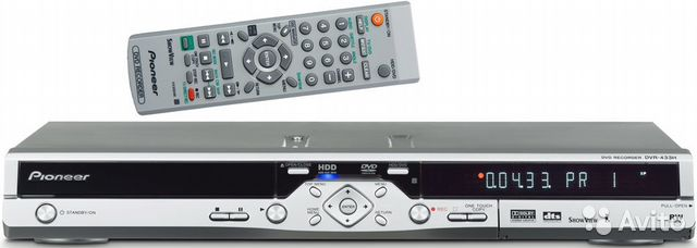 Pioneer DVR-433H-S Recorder Driver