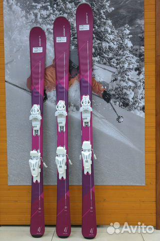 ea5ea15d5af5 Горные лыжи женские Elan Zest LS + креп. ELW 9 146   Festima.Ru ...