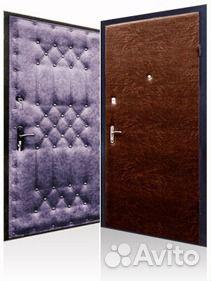дверь металлическая с винил