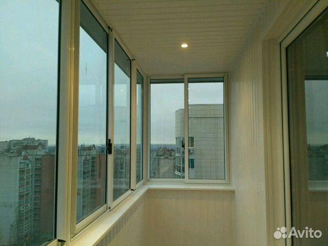 Услуги - остекление балконов и лоджий, наружная и внутрення .