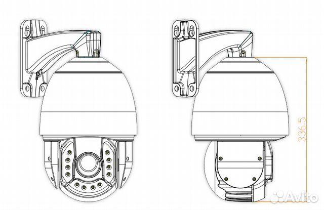 Новые скоростные 36X Full HD уличные IP камеры— фотография №1