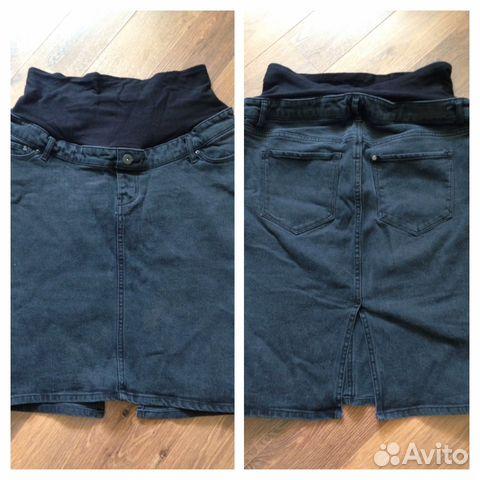 Джинсовая юбка для беременных купить в Республике Коми на Avito ... 29186750eb6