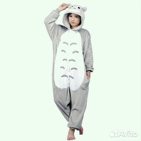 Пижама кигуруми Тоторо (и многие другие) купить в Ханты-Мансийском ... 14d6febf28efc
