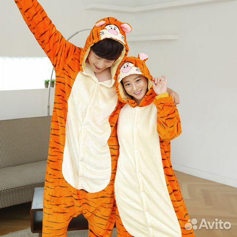 Кигуруми костюм (пижама) Тигр размер L  c8afdaf36d248