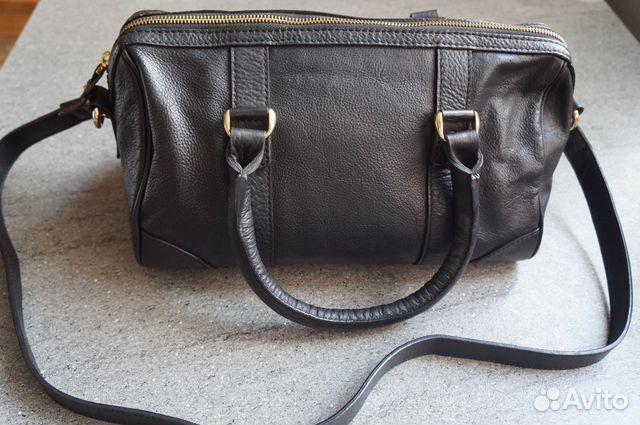 e80f7c85f0ca Кожанная сумка-саквояж
