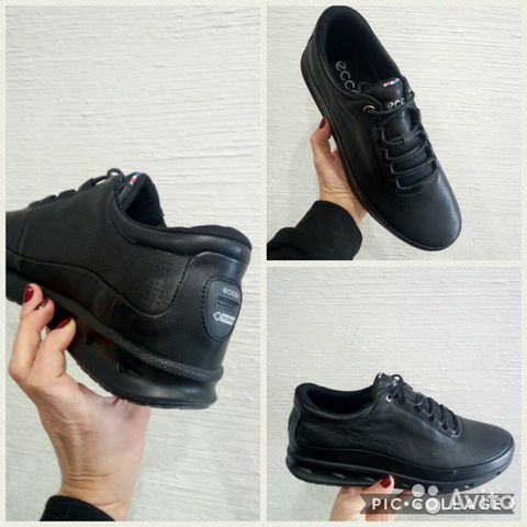 Ботинки -кроссовки Ecco кожаные купить в Москве на Avito ... d4f14a5fa2a84