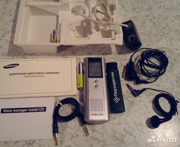 Инструкция к диктофон samsung svr s820