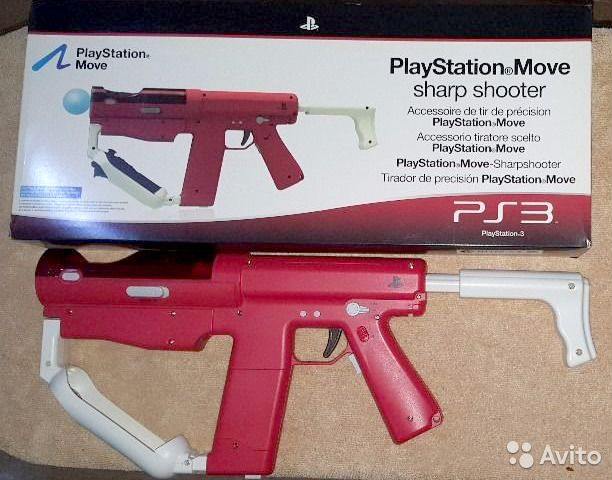 PlayStation Move Sharp Shooter 89379100655 купить 6