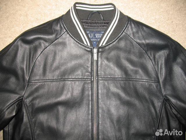 d8ba578a4e3b Куртка кожаная armani jeans   Festima.Ru - Мониторинг объявлений