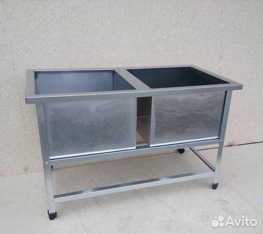 Ванны моечные, столы, стеллажи в наличии 89054553575 купить 3
