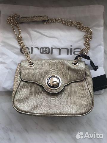 9133c1d64824 Новая кожаная сумка Cromia beige (с пыльником)   Festima.Ru ...