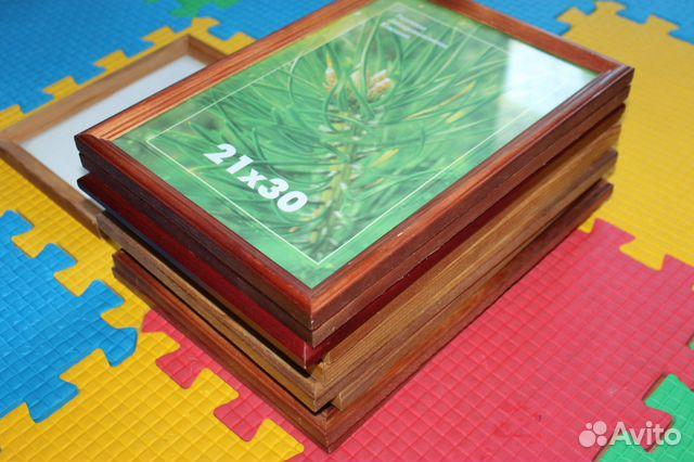 Фоторамка деревянная 10 штук 89297878605 купить 2