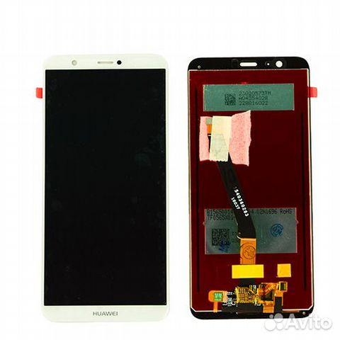 33b5b1dfa1b Дисплей Huawei P Smart в сборе белый купить в Москве на Avito ...