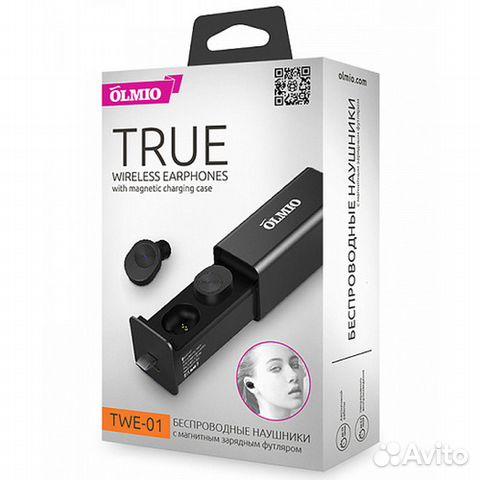 Беспроводные наушники Olmio TWE-01 Black d2a0aeff86405