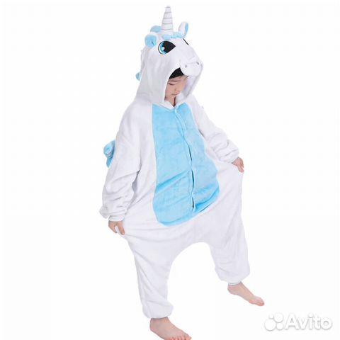 Пижама кигуруми единорог  49ee42cbff1fc