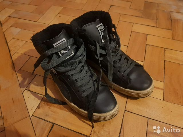 Зимние кроссовки Puma Suede 42.5 размер  280acdd60a0df