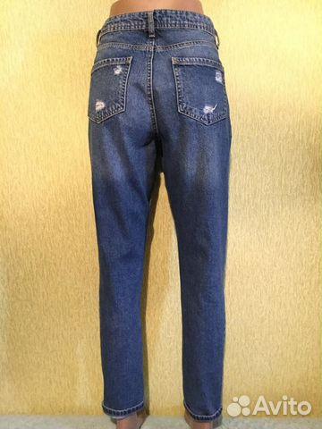 e24c393e797 Фирменные джинсы мом denim co 10 размер