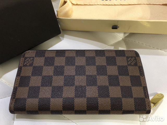 5b0635ad45ee Кошелек Louis Vuitton Zippy Damier новый) | Festima.Ru - Мониторинг ...