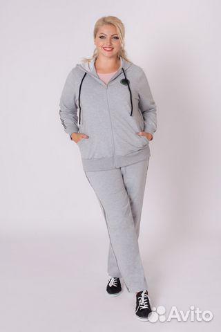 ac23535ae7c3 Женская одежда больших размеров Спорт.костюм Лайф купить в Москве на ...