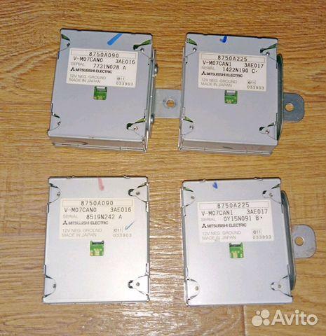 Canbox 8750A225 8750A090 mitsubishi mmcs купить в Тульской области