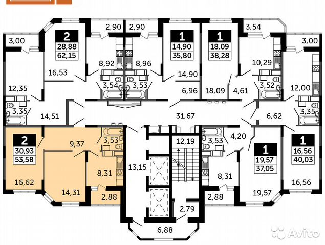 Продается двухкомнатная квартира за 3 330 000 рублей. Московская область, Раменское, Северное шоссе, к14А.