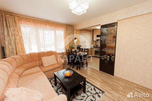Продается четырехкомнатная квартира за 3 670 000 рублей. г Петрозаводск, р-н Октябрьский, Октябрьский пр-кт, д 47.
