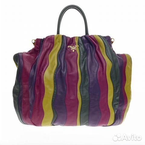 38a1b8e29461 Огромная кожаная сумка prada шоппер оригинал купить в Санкт ...