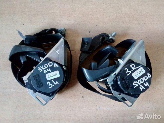 89026196331  Ремень безопасности задний Skoda Octavia A4 1.6