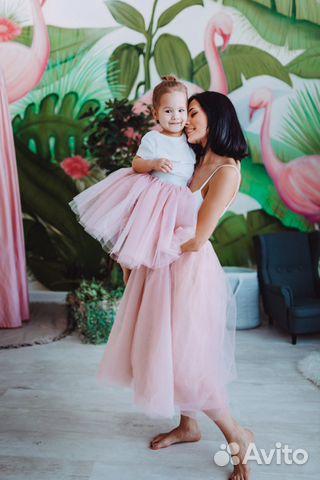 1518f5393269 Комплект фатиновые юбки мама + дочка family look купить в Санкт ...