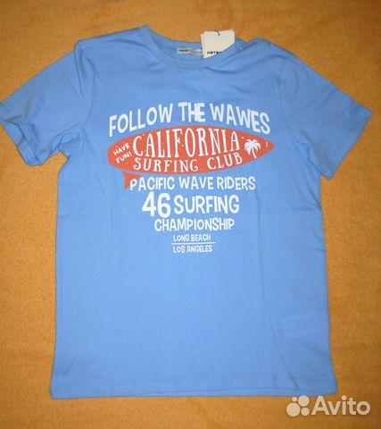 Новая футболка на 9-10 лет 89054034242 купить 1