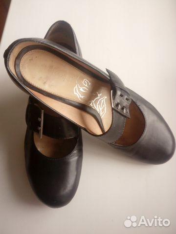 Туфли кожаные с ремешком. Эконика.Ria Rosa.36р-р 89117015256 купить 1
