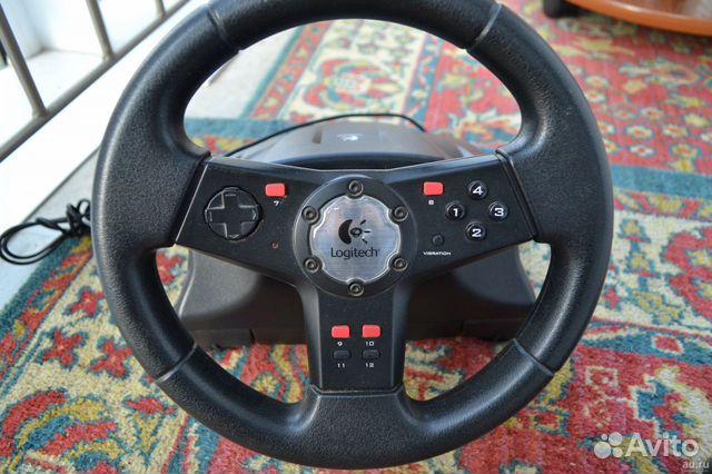 Руль с педалями Logitech 89235982756 купить 3