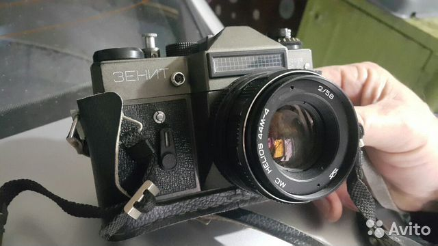 Продам фотоаппарат zenit в идеальном состоянии 89787499018 купить 2